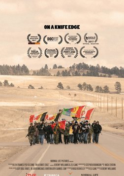 On a Knife Edge - A Lakota Teenager Fights for Social Justice.